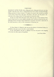 Page 8, 1937 Edition, Occidental College - La Encina Yearbook (Los Angeles, CA) online yearbook collection