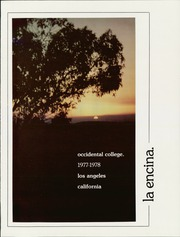 Page 5, 1978 Edition, Occidental College - La Encina Yearbook (Los Angeles, CA) online yearbook collection