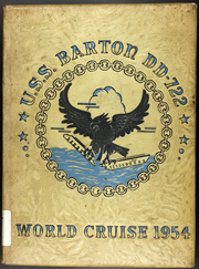 Page 1, 1954 Edition, Barton (DD 722) - Naval Cruise Book online yearbook collection