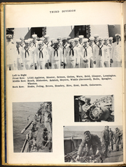 Page 14, 1954 Edition, Barton (DD 722) - Naval Cruise Book online yearbook collection