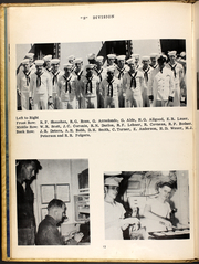 Page 16, 1954 Edition, Barton (DD 722) - Naval Cruise Book online yearbook collection