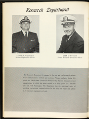 Page 13, 1966 Edition, Belmont (AGTR 4) - Naval Cruise Book online yearbook collection
