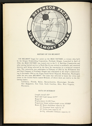 Page 7, 1966 Edition, Belmont (AGTR 4) - Naval Cruise Book online yearbook collection