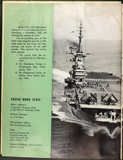 Page 6, 1953 Edition, Bennington (CVA 20) - Naval Cruise Book online yearbook collection