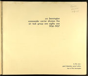 Page 5, 1957 Edition, Bennington (CVA 20) - Naval Cruise Book online yearbook collection