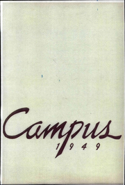 Pasadena City College - Pageant Yearbook (Pasadena, CA) online yearbook collection, 1949 Edition, Page 1