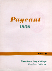 Page 2, 1956 Edition, Pasadena City College - Pageant Yearbook (Pasadena, CA) online yearbook collection