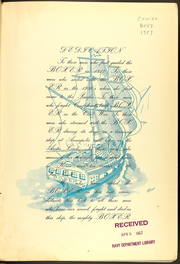 Page 3, 1957 Edition, Boxer (CVS 21) - Naval Cruise Book online yearbook collection