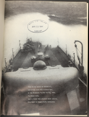 Page 2, 1966 Edition, Bridget (DE 1024) - Naval Cruise Book online yearbook collection