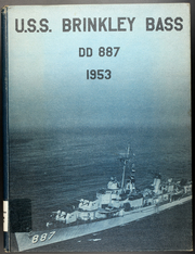 1953 Edition, Brinkley Bass (DD 887) - Naval Cruise Book
