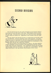 Page 15, 1953 Edition, Brinkley Bass (DD 887) - Naval Cruise Book online yearbook collection