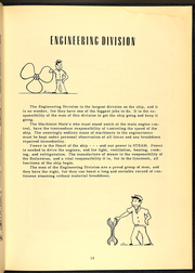Page 17, 1953 Edition, Brinkley Bass (DD 887) - Naval Cruise Book online yearbook collection
