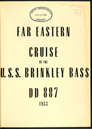 Page 3, 1953 Edition, Brinkley Bass (DD 887) - Naval Cruise Book online yearbook collection