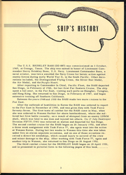 Page 5, 1953 Edition, Brinkley Bass (DD 887) - Naval Cruise Book online yearbook collection