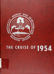 1954 Edition, Brinkley Bass (DD 887) - Naval Cruise Book