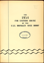 Page 5, 1954 Edition, Brinkley Bass (DD 887) - Naval Cruise Book online yearbook collection