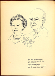 Page 6, 1954 Edition, Brinkley Bass (DD 887) - Naval Cruise Book online yearbook collection