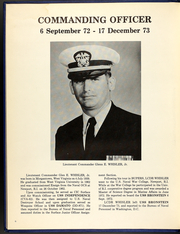 Page 10, 1974 Edition, Bronstein (DE 1037) - Naval Cruise Book online yearbook collection