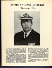 Page 12, 1974 Edition, Bronstein (DE 1037) - Naval Cruise Book online yearbook collection