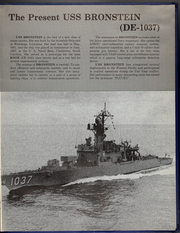 Page 9, 1974 Edition, Bronstein (DE 1037) - Naval Cruise Book online yearbook collection