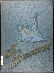 Page 1, 1955 Edition, Brownson (DD 868) - Naval Cruise Book online yearbook collection