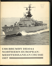 Page 5, 1967 Edition, Brumby (DE 1044) - Naval Cruise Book online yearbook collection