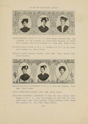Page 15, 1907 Edition, University of Nebraska Lincoln - Cornhusker Yearbook (Lincoln, NE) online yearbook collection