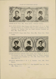 Page 17, 1907 Edition, University of Nebraska Lincoln - Cornhusker Yearbook (Lincoln, NE) online yearbook collection