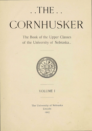 Page 7, 1907 Edition, University of Nebraska Lincoln - Cornhusker Yearbook (Lincoln, NE) online yearbook collection