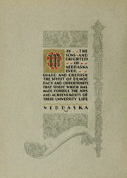 Page 10, 1928 Edition, University of Nebraska Lincoln - Cornhusker Yearbook (Lincoln, NE) online yearbook collection