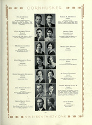 Page 109, 1931 Edition, University of Nebraska Lincoln - Cornhusker Yearbook (Lincoln, NE) online yearbook collection
