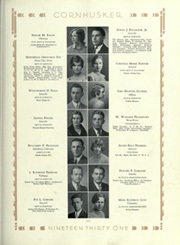 Page 111, 1931 Edition, University of Nebraska Lincoln - Cornhusker Yearbook (Lincoln, NE) online yearbook collection