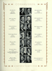 Page 113, 1931 Edition, University of Nebraska Lincoln - Cornhusker Yearbook (Lincoln, NE) online yearbook collection
