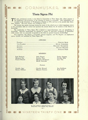 Page 235, 1931 Edition, University of Nebraska Lincoln - Cornhusker Yearbook (Lincoln, NE) online yearbook collection