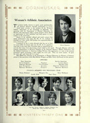Page 239, 1931 Edition, University of Nebraska Lincoln - Cornhusker Yearbook (Lincoln, NE) online yearbook collection