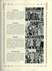 Page 245, 1931 Edition, University of Nebraska Lincoln - Cornhusker Yearbook (Lincoln, NE) online yearbook collection