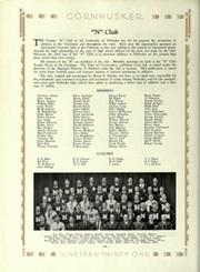 Page 252, 1931 Edition, University of Nebraska Lincoln - Cornhusker Yearbook (Lincoln, NE) online yearbook collection