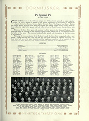 Page 255, 1931 Edition, University of Nebraska Lincoln - Cornhusker Yearbook (Lincoln, NE) online yearbook collection