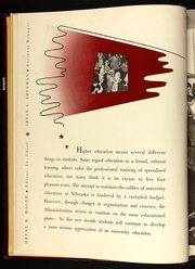 Page 10, 1940 Edition, University of Nebraska Lincoln - Cornhusker Yearbook (Lincoln, NE) online yearbook collection