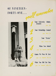 Page 12, 1941 Edition, University of Nebraska Lincoln - Cornhusker Yearbook (Lincoln, NE) online yearbook collection