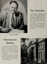 Page 14, 1952 Edition, University of Nebraska Lincoln - Cornhusker Yearbook (Lincoln, NE) online yearbook collection