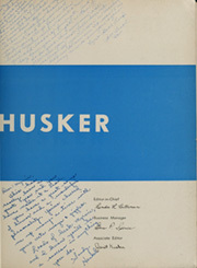 Page 7, 1957 Edition, University of Nebraska Lincoln - Cornhusker Yearbook (Lincoln, NE) online yearbook collection