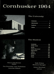 Page 7, 1964 Edition, University of Nebraska Lincoln - Cornhusker Yearbook (Lincoln, NE) online yearbook collection