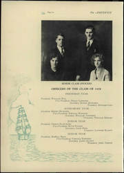 Page 16, 1928 Edition, Deering High School - Amethyst Yearbook (Portland, ME) online yearbook collection