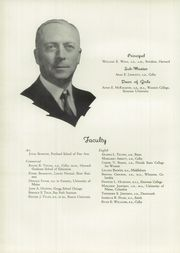 Page 10, 1938 Edition, Deering High School - Amethyst Yearbook (Portland, ME) online yearbook collection
