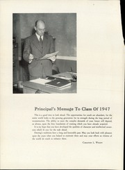Page 10, 1947 Edition, Deering High School - Amethyst Yearbook (Portland, ME) online yearbook collection