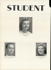 Page 14, 1947 Edition, Deering High School - Amethyst Yearbook (Portland, ME) online yearbook collection