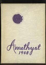 Page 1, 1948 Edition, Deering High School - Amethyst Yearbook (Portland, ME) online yearbook collection