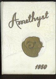 Page 1, 1950 Edition, Deering High School - Amethyst Yearbook (Portland, ME) online yearbook collection