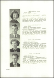 Page 12, 1953 Edition, Wells High School - Abenaki Yearbook (Wells, ME) online yearbook collection